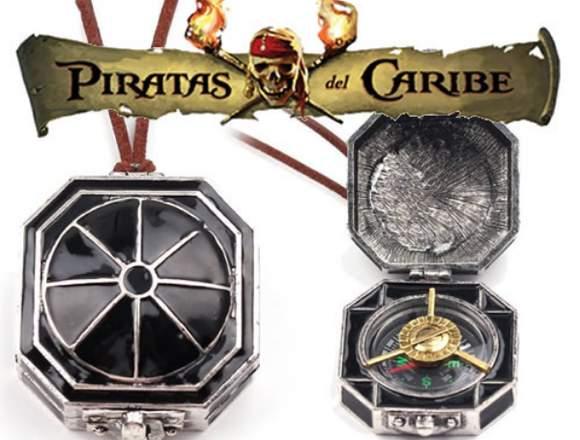 Brújula de Piratas del Caribe