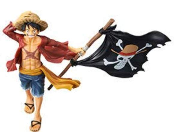 One Piece Monkey D Luffy revista Ilustración