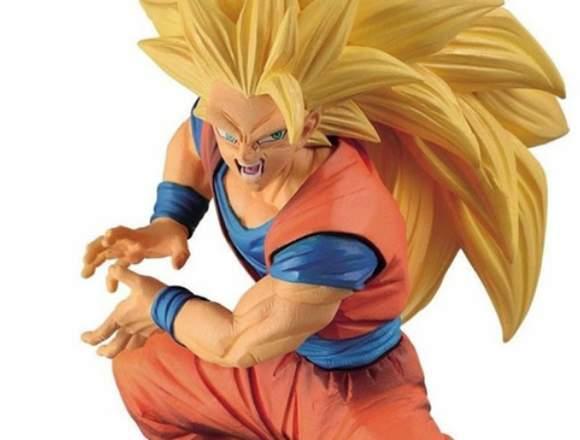 Figura Son Goku SSJ Super Saiyan III