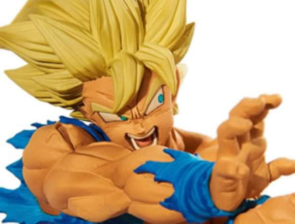 Figura Son Goku haciendo el kamehameha