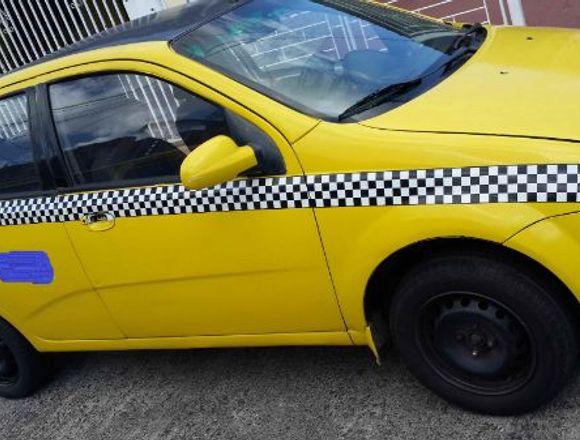 Venta de taxi chevrolet