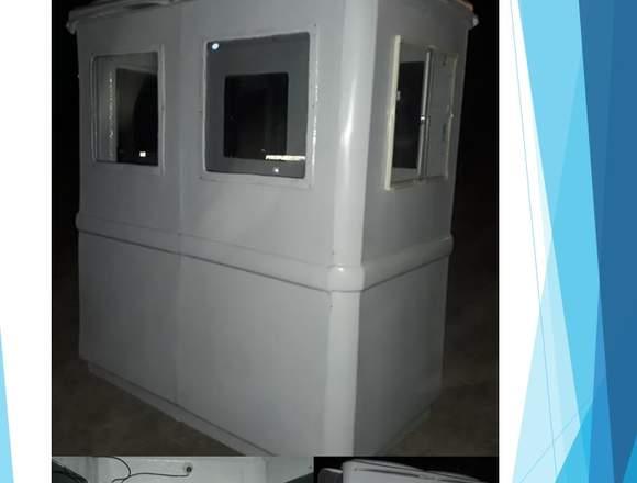 Cabina para guardia de  seguridad de PRFV