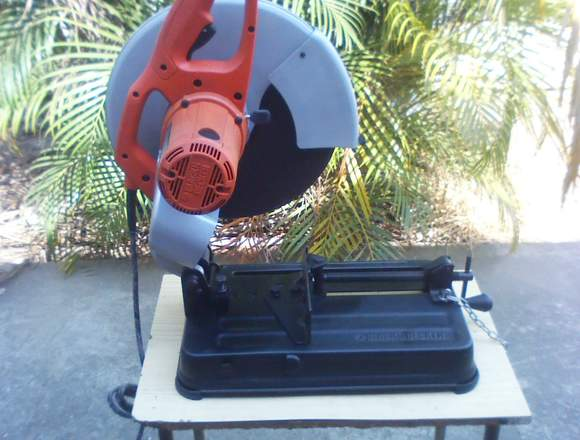 "TROZADORA DE METAL 14"" BLACK DECKER"