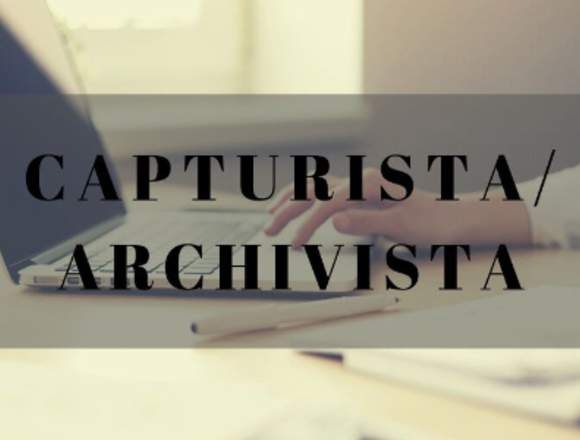 CAPTURISTAS/ARCHIVISTA
