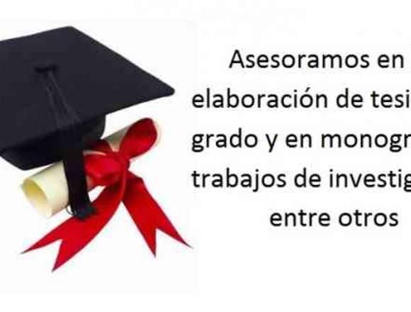Tesis Y Trabajos De Grado Maestrias Y Doctorados