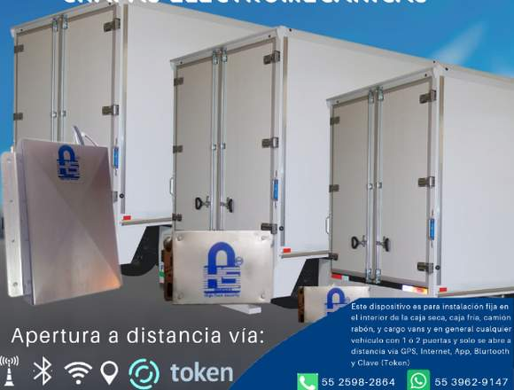 Chapas-moviles Electromecánicas Para Cajas