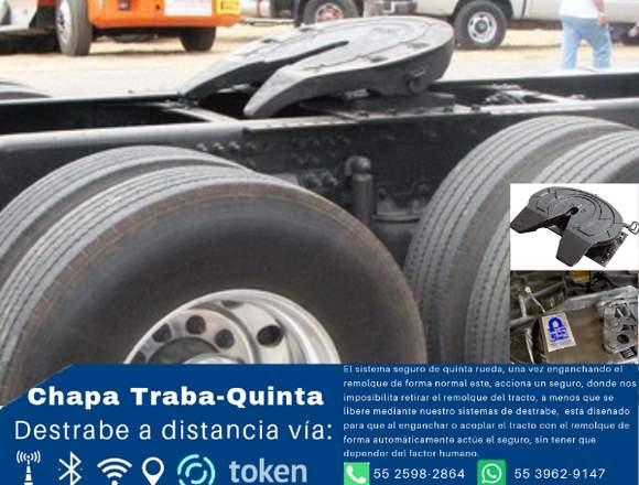 Chapa Traba-quinta Impide Que Destrabe La Caja