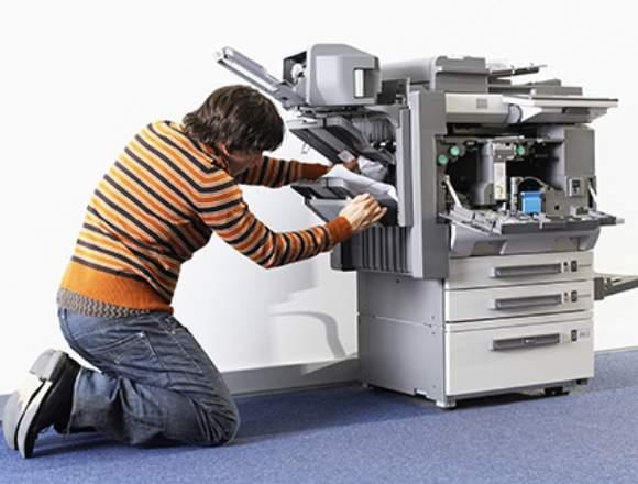 doy servicio para fotocopiadora y PC