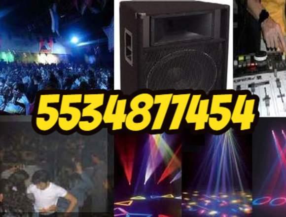 Luz y Sonido DJ Totalmente Versatil