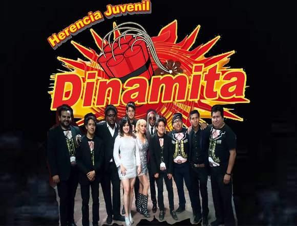 Sonora Juvenil Dinamita contrataciones de  Sonora