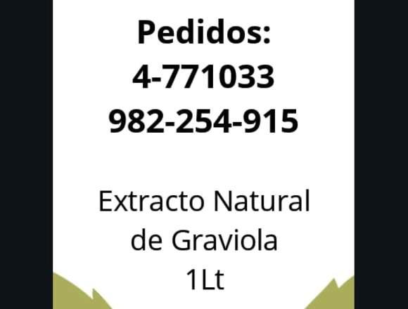 Vendo Extracto de Graviola 1LT