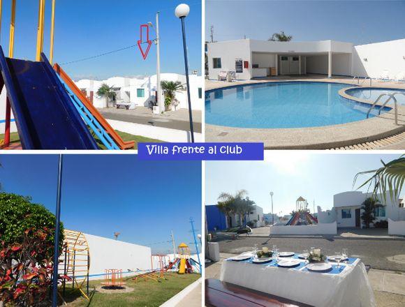 Salinas Alquiler casa vacacional playa piscina