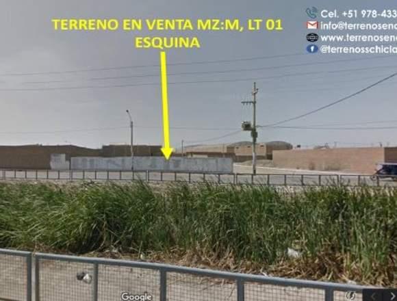 TERRENO DE 388 M2 -URB. LA PARADA, CHICLAYO