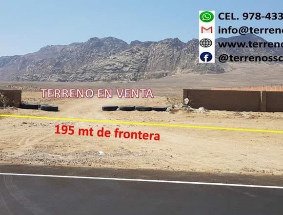 Terreno Industrial en Filo de pista Reque-Chiclayo