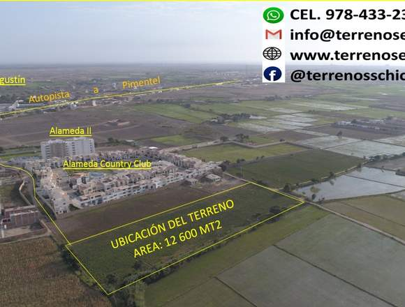 Terreno Carretera Pimentel-Chiclayo
