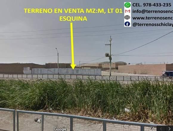 Venta de Terreno comercial en Chiclayo