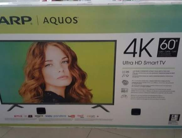 Smart TV PANTALLA NUEVA SHARP AQUOS 4K CON WIFI