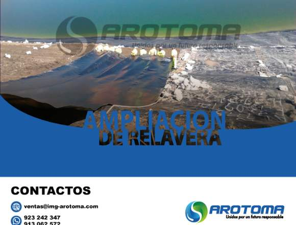 AMPLIACIÓN DE RELAVERA PARA PRESAS/923242347