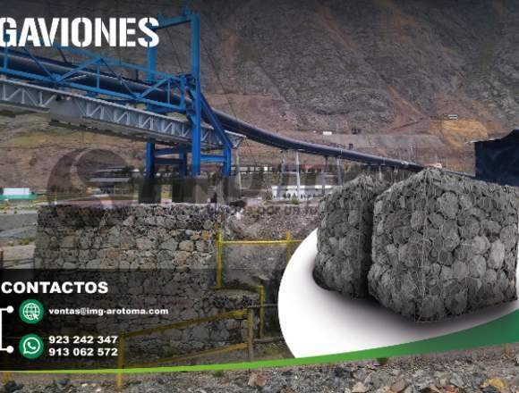 GAVIONES PARA CONSTRUCCIÓN DE DIQUES