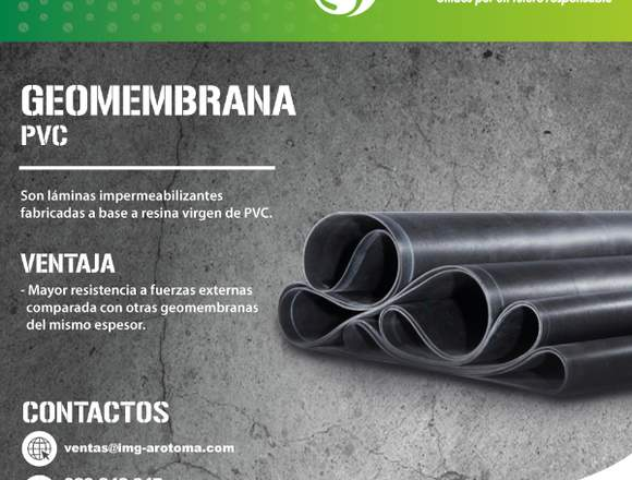 GEOMEMBRANA PVC/INSTALACIÓN Y VENTA A TODO EL PAÍS