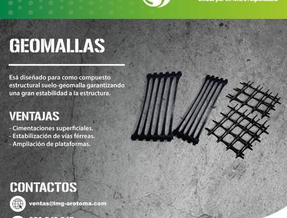 VENTA DE GEOMALLAS PARA DIQUES ENVÍOS A PROVINCIA