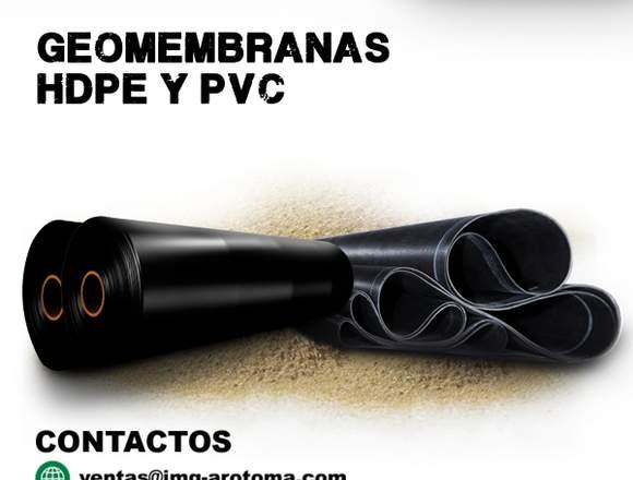 GEOMEMBRANA HDPE Y PVC / VENTA E INSTALACIÓN