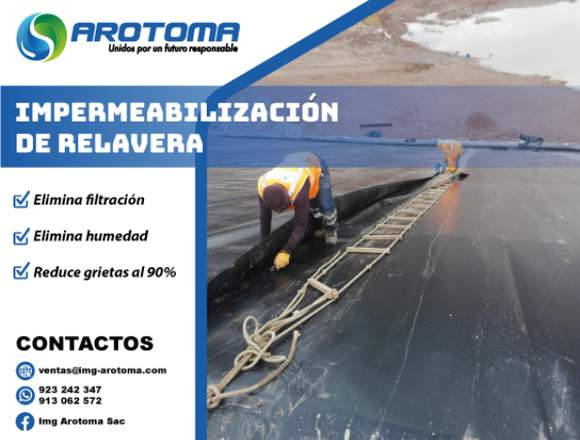 SERVICIO DE IMPERMEABILIZACIÓN DE RELAVERA