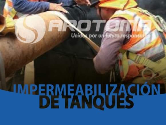 IMPERMEABILIZACIÓN DE TANQUES CON HDPE Y PVC