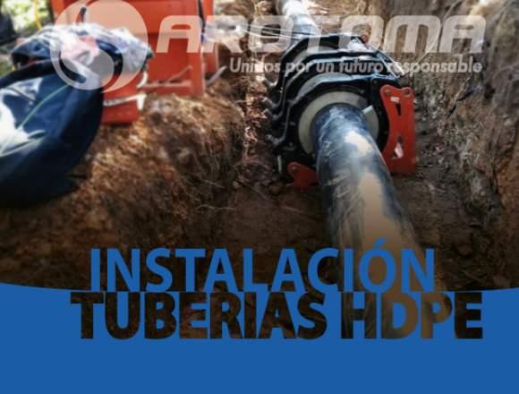 SERVICIO DE INSTALACIÓN DE TUBERÍAS HDPE