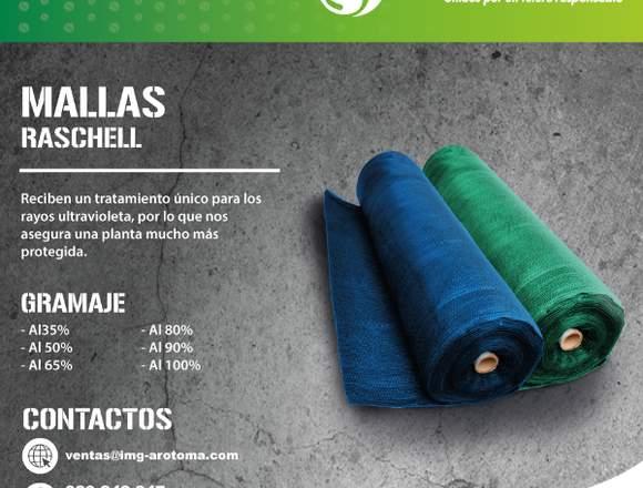 MALLA RASCHELL PARA AGROINDUSTRIA, CONSTRUCCIÓN