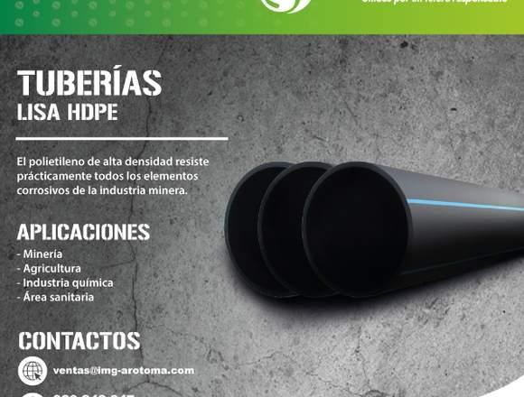TUBERÍA HDPE/INSTALACIÓN Y VENTA A TODO EL PAÍS