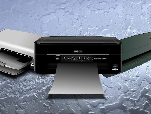 Servicio técnico de impresoras.