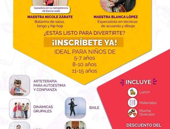 Cursos vacacionales-QUITO,ECUADOR