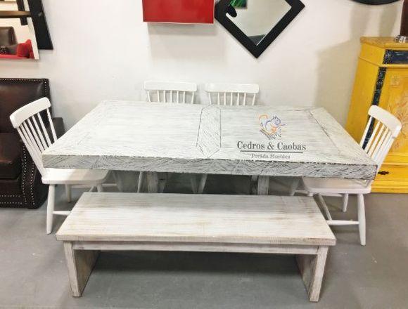 Sofa Muebles Hoy 2019, JUEGO DE COMEDOR INDU