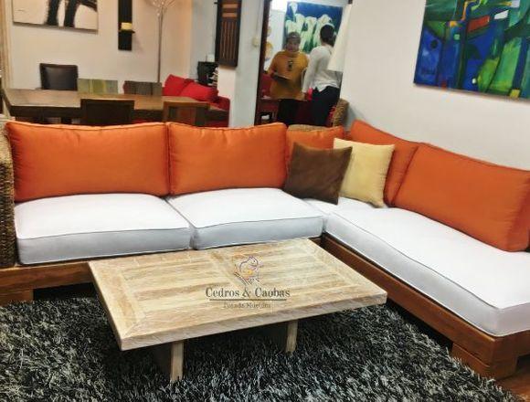 Sofa Muebles Hoy 2019 JUEGO DE SALA ELE CALCETA