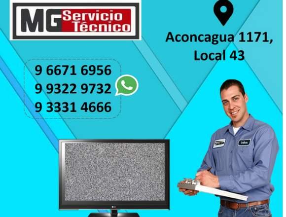 Servicio Tecnico de tv SMART Samsung LG AOC Sony