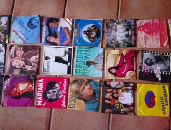 Se venden discos antiguos