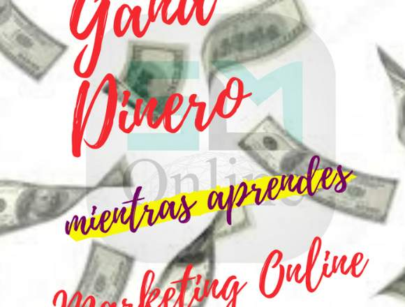 Genera ingresos mientras aprendes Marketing Online