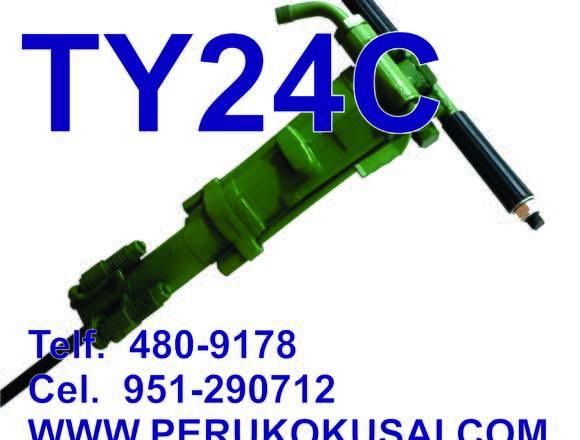 TY24C Rompe pavimento neumático.