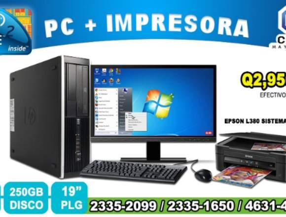 COMPUTADORAS HP COREi5, 6TA GENERACIÓN