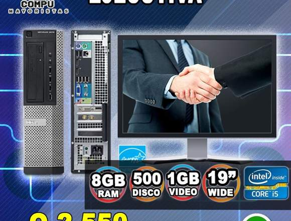 COMPUTADORAS PARA QUE TRABAJES DESDE TU CASA
