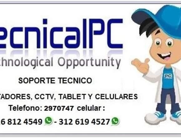SOPORTE TECNICO COMPUTADORES