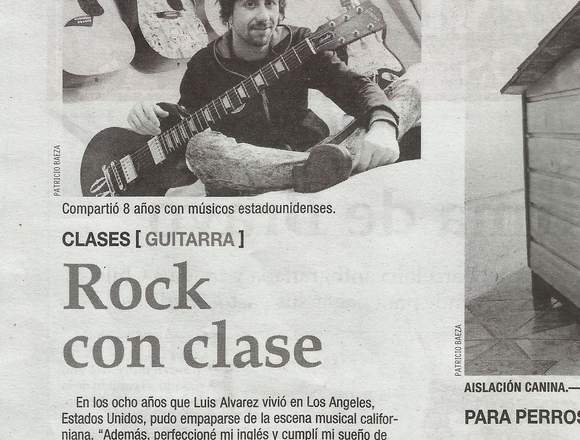 Clases Guitarra a Domicilio (Vitacura-Las Condes)