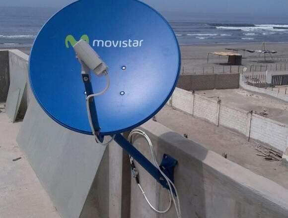 servicio tecnico Directv , Movistar , Claro, fta
