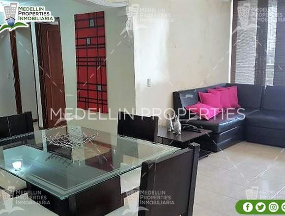Furnished Apartment for Rental Medellín Cód: 4680