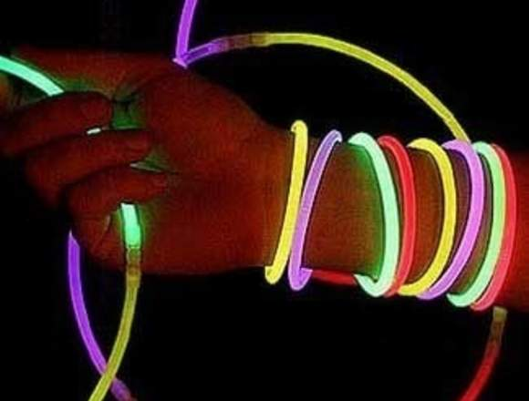 Pulseras Glow Stick Manillas X 100