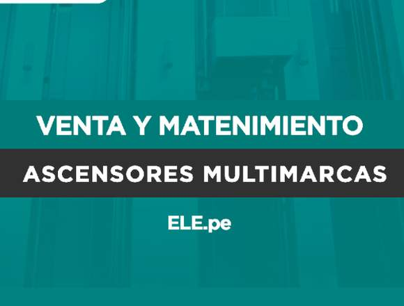 Mantenimiento Ascensores
