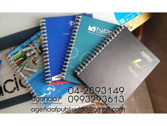 cuadernos / agendas personalizados corporativos