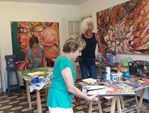 Clases de Arte y Pintura Creativa en Villa Devoto