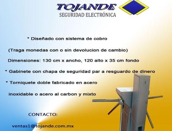 TORNIQUETE DOBLE DE USO RUDO C/ SISTEMA DE COBRO